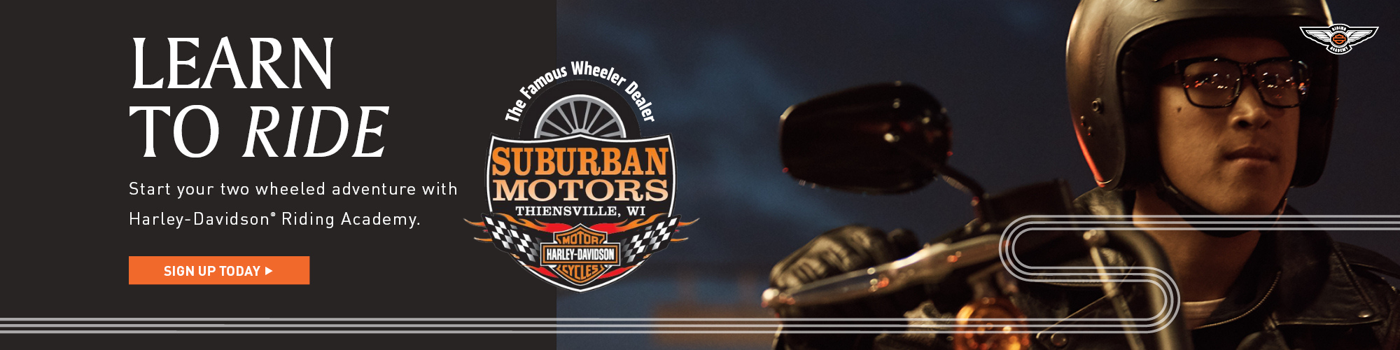 Learn To Ride At Suburban Motors Harley-Davidson
