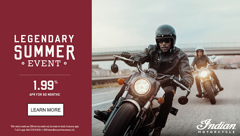 Indian Promotional Financing & Trade-In Offers - 2019 Scout Family at Lynnwood Motoplex