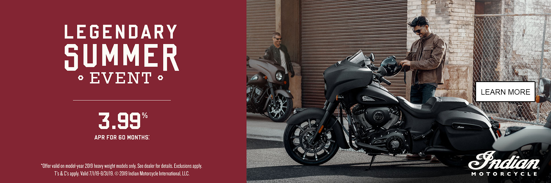 Indian Promotional Financing & Trade-In Offer - 2019 Thunder Stroke 111 at Indian Motorcycle of Northern Kentucky