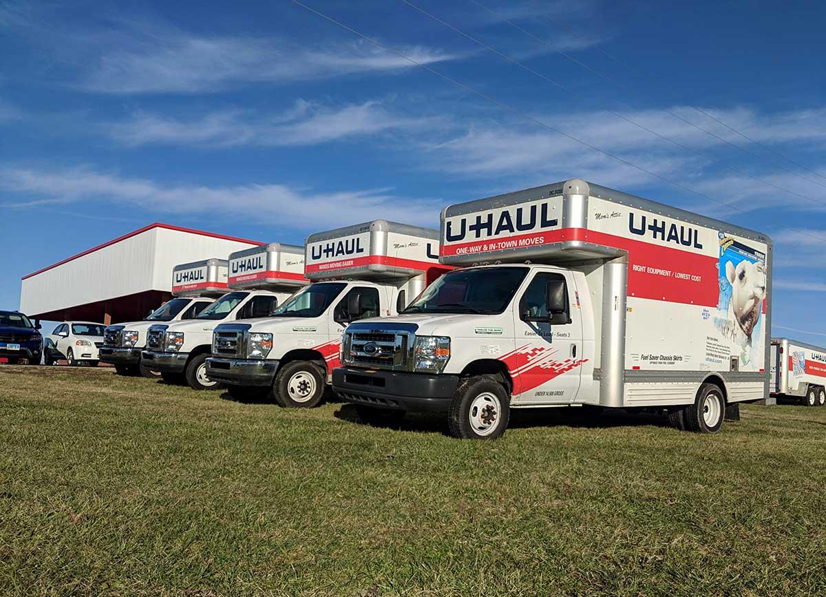 Reserve a Uhaul at Van's Motorsports