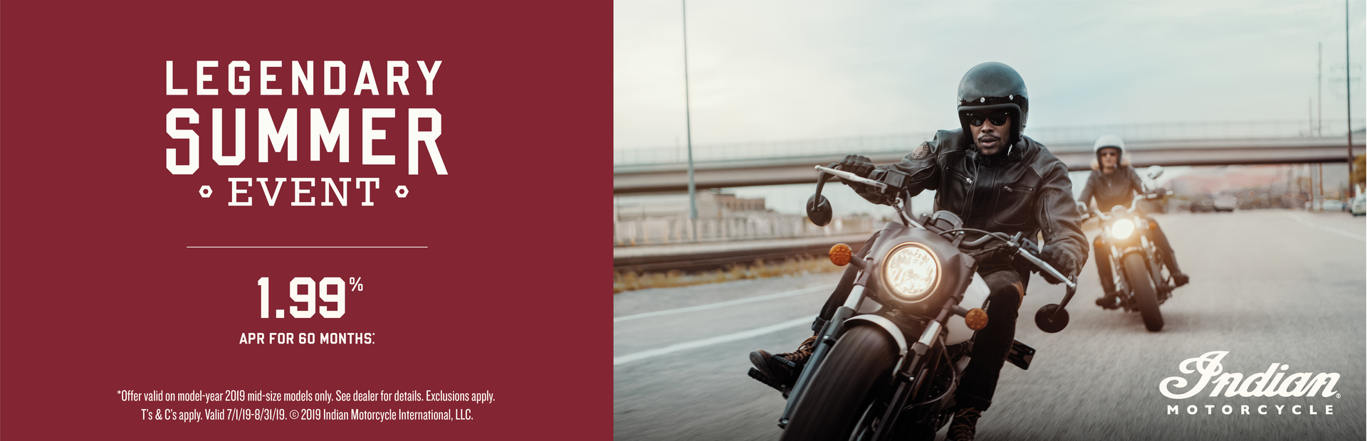 Indian Promotional Financing - 2019 Scout Family at Indian Motorcycle of Northern Kentucky