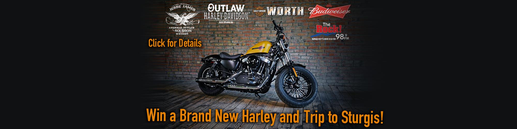Kansas City - Win a new Harley-Davidson - 98.9