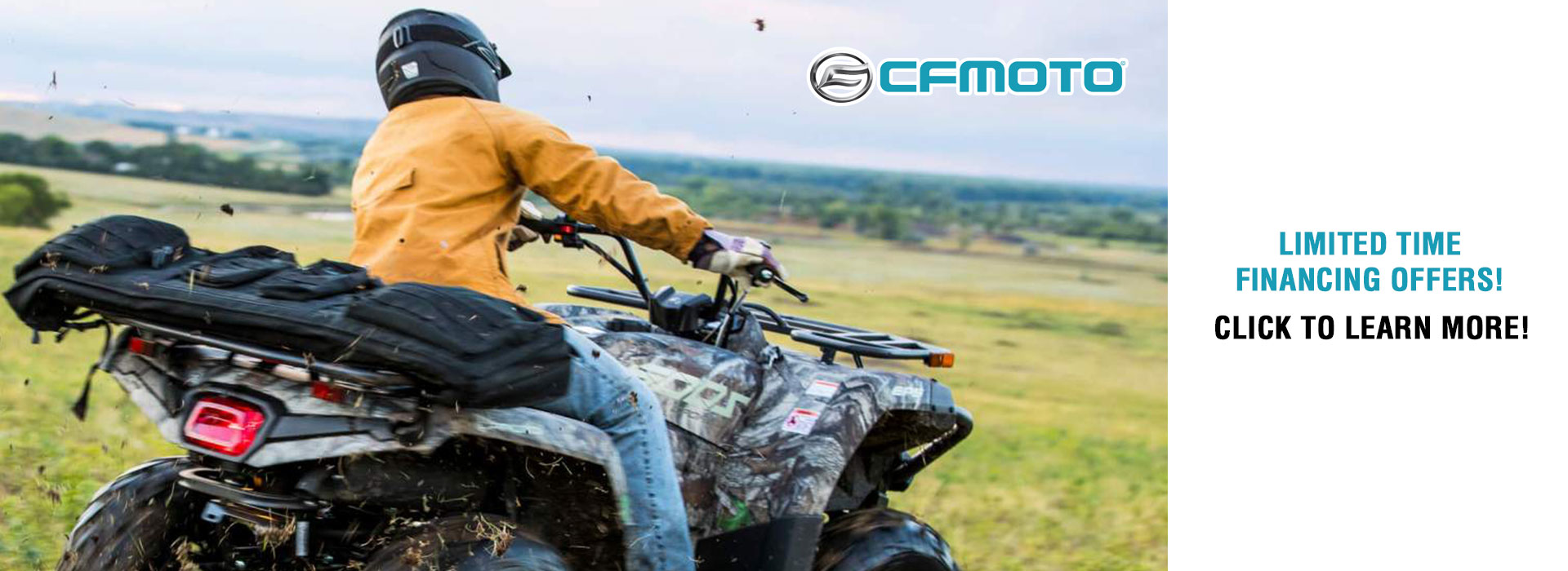 CFMOTO Limited Time Financing Offers at Randy's Cycle