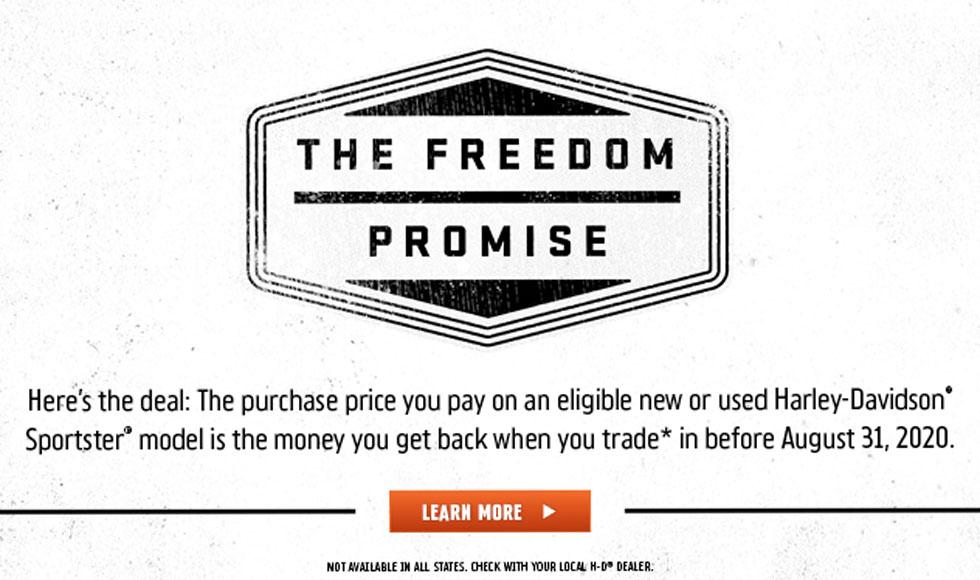Harley-Davidson Freedom Promise at Hunter's Moon Harley-Davidson