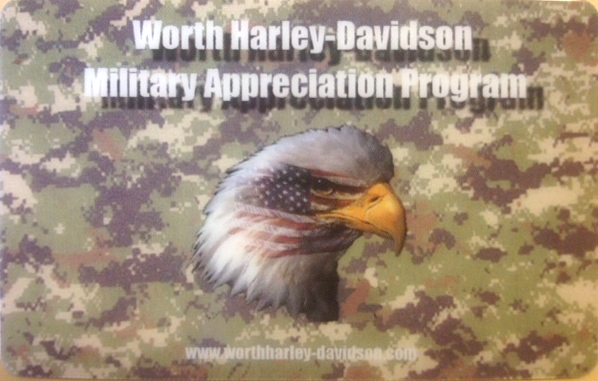 Worth Harley-Davidson Military Appreciation Program