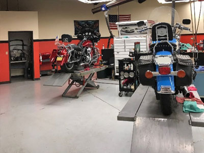 Service Department at High Plains Harley-Davidson
