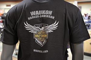 MotorClothes department at Waukon Harley-Davidson