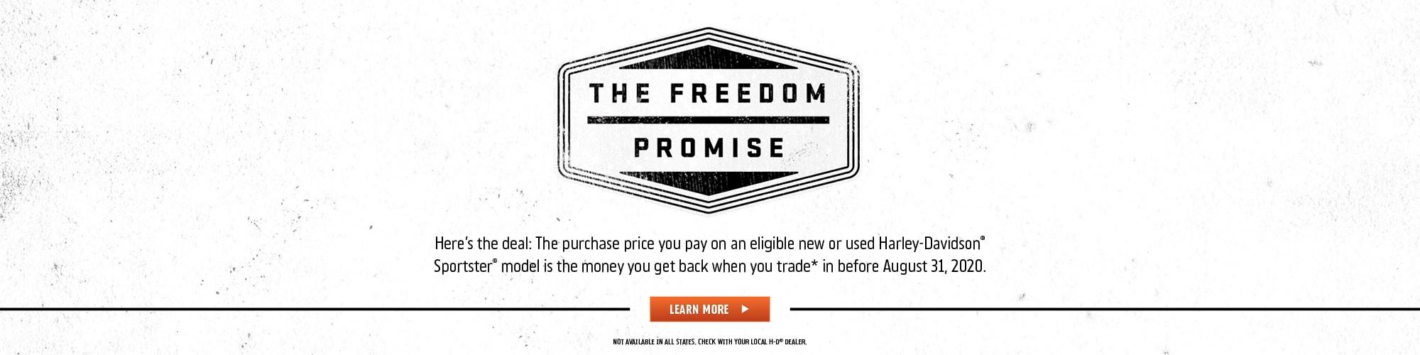 Harley-Davidson Freedom Promise at Destination Harley-Davidson Silverdale