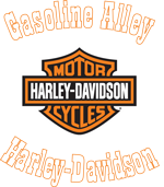 Gasoline Alley Harley-Davidson Red Deer logo