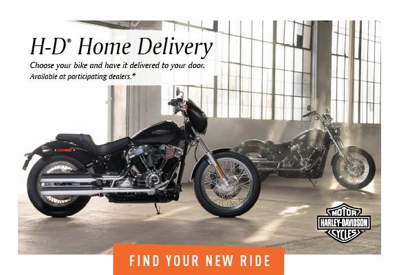 Harley-Davidson Home Delivery