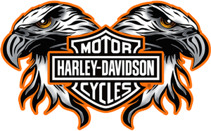 Cox Double Eagle Harley-Davidson logo