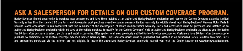Harley-Davidson Warranty