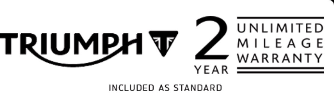 Triumph 2 Year Warranty