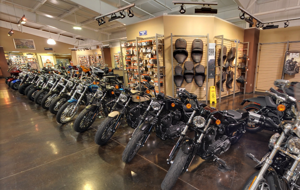 Parts Department At Bluegrass Harley-Davidson