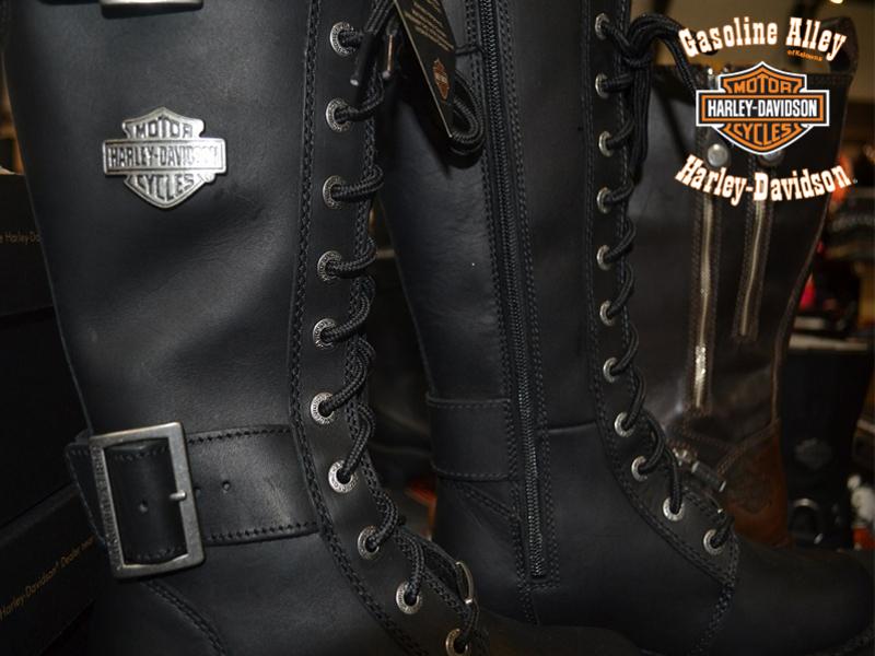 MotorClothes boots at Gasoline Alley Harley-Davidson of Kelowna