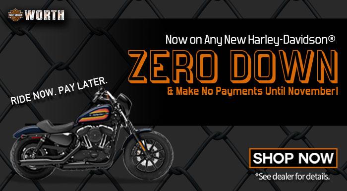 Zero Down on a Harley-Davidson, Kansas City