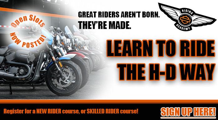 Learn to Ride - Harley-Davidson