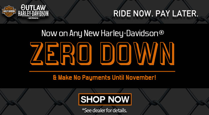 Zero Down on a Harley-Davidson, Kansas City
