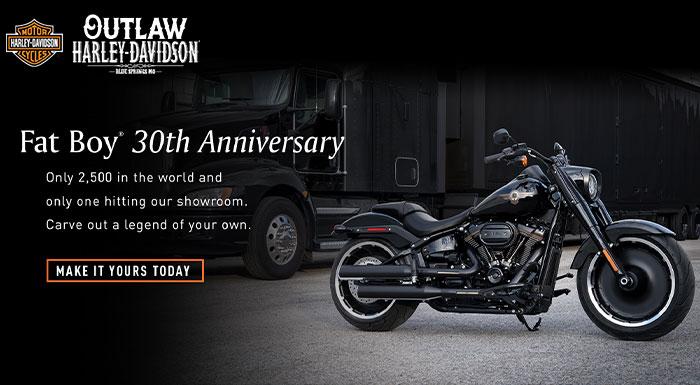 Fat Boy 30h Anniversary Harley Davidson
