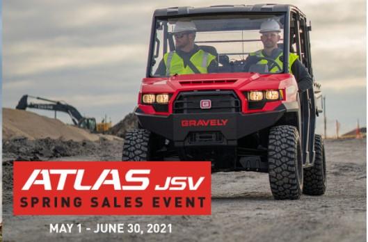 Gravely's ATLAS JSV Spring Sales Event at Eastside Honda