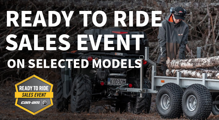 Can-Am Off-road Ready to Ride Sales Event at Sloans Motorcycle ATV, Murfreesboro, TN, 37129
