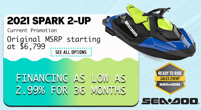 Sea-Doo's Ready to Ride Sales Event at Hebeler Sales & Service, Lockport, NY 14094