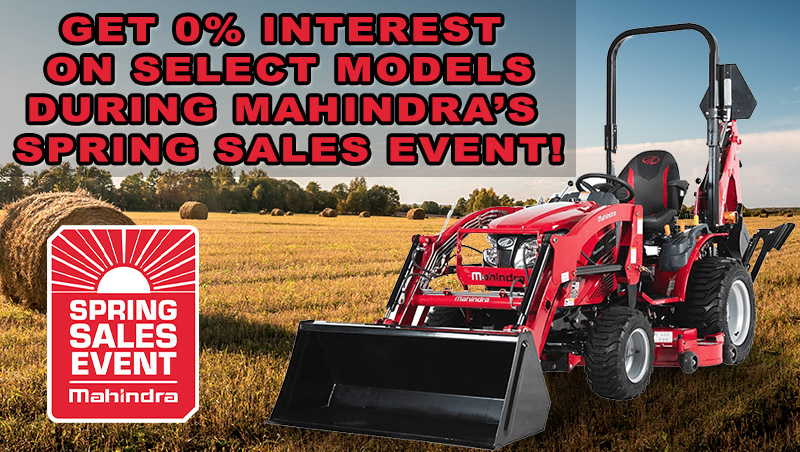 Mahindra's Spring Sales Event at ATVs and More