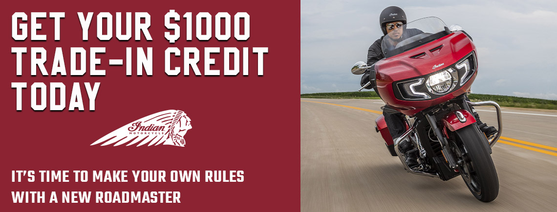 Indian's $1000 Trade-In Credit Special Offer at Fort Myers