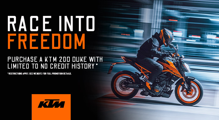 KTM's Race Into Freedom at Yamaha Triumph KTM of Camp Hill, Camp Hill, PA 17011