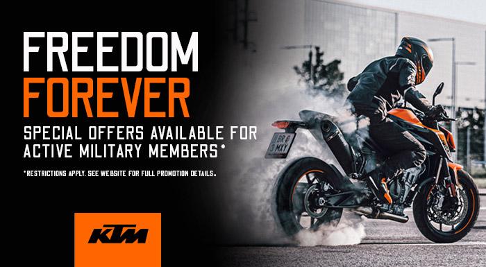 KTM Freedom Forever at Ride Center USA