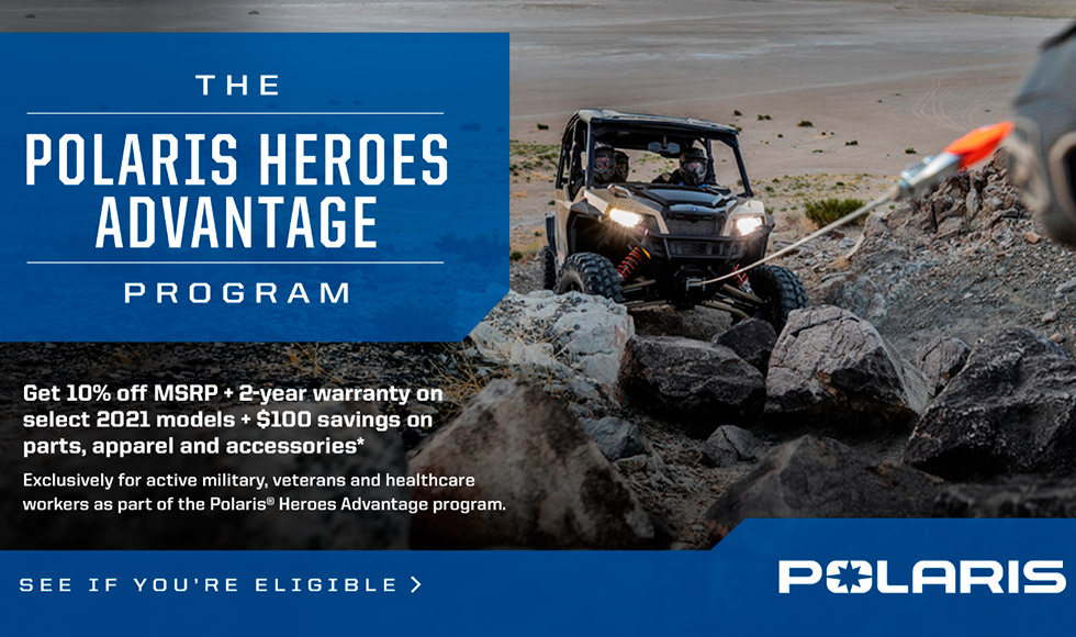Polaris Heroes Advantage Program at Star City Motor Sports
