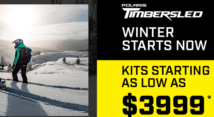 Timbersled - Winter Stars Now at Cascade Motorsports