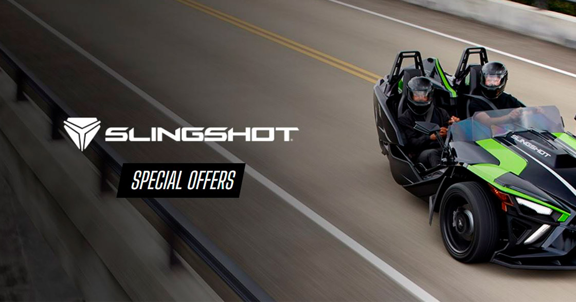 Slingshot Special Offers at Sloans Motorcycle ATV, Murfreesboro, TN, 37129