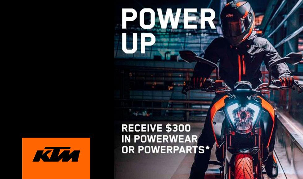 August 2021 KTM Power Deals at Cascade Motorsports