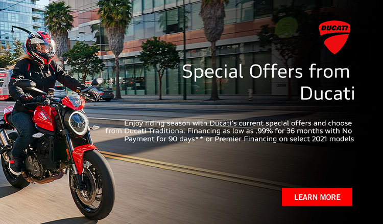 Special Offers from Ducati at Frontline Eurosports