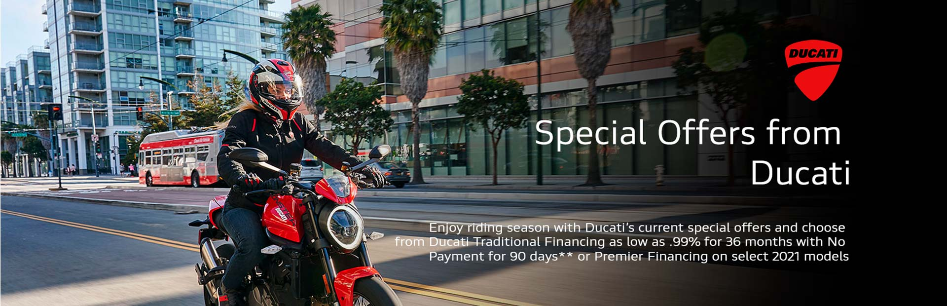 Special Offers from Ducati at Aces Motorcycles - Fort Collins