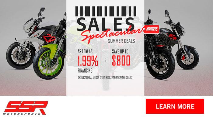 SSR Motorsports Models - Sales Spectacular Summer Deals at Nishna Valley Cycle, Atlantic, IA 50022