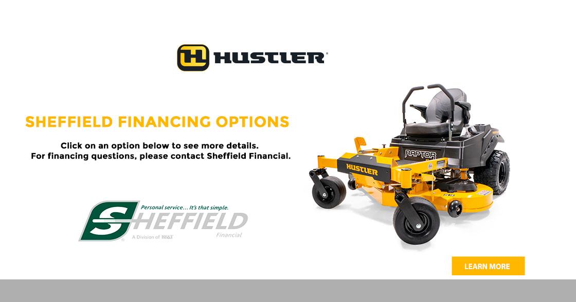 Hustler Turf - Sheffield Financing Options at Keating Tractor