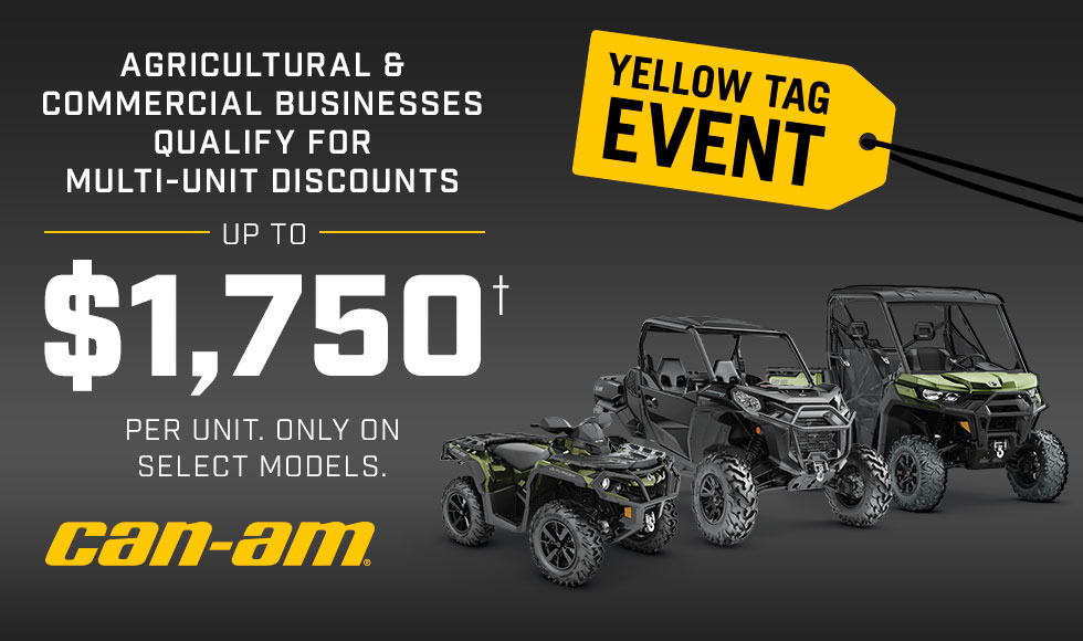 Can Am Off Road Yellow Tag Event at Sloans Motorcycle ATV, Murfreesboro, TN, 37129