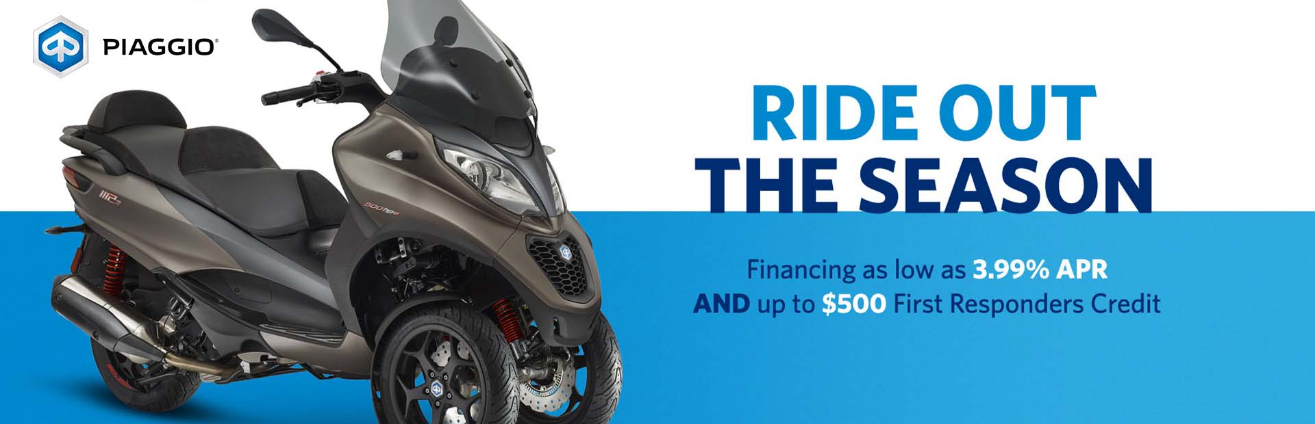 Piaggio - Ride Out the Season at Aces Motorcycles - Fort Collins