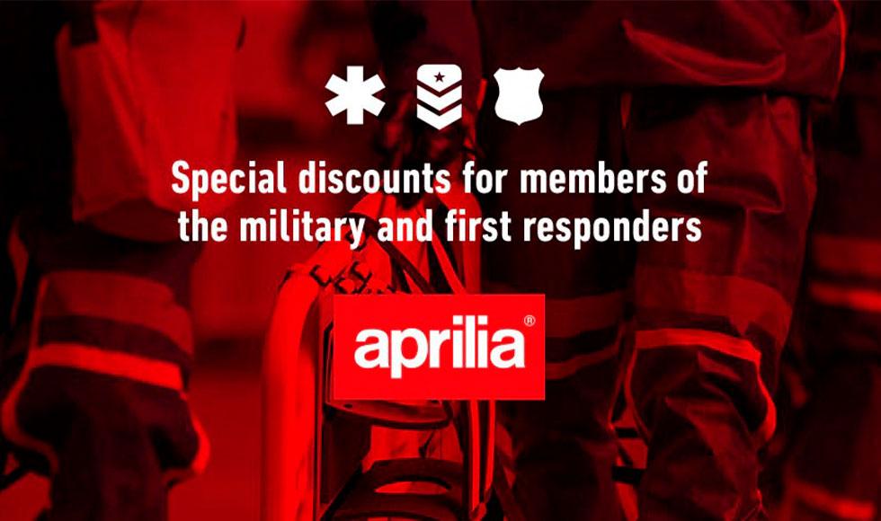 Aprilia - Military & First Responders at Sloans Motorcycle ATV, Murfreesboro, TN, 37129