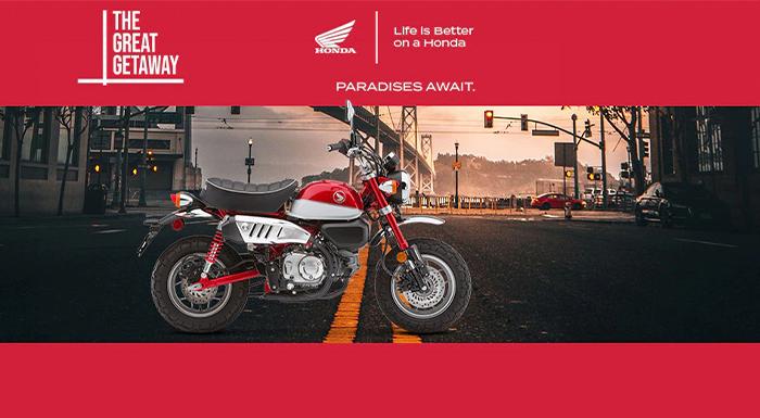 Honda US - The Great Getaway at Ride Center USA