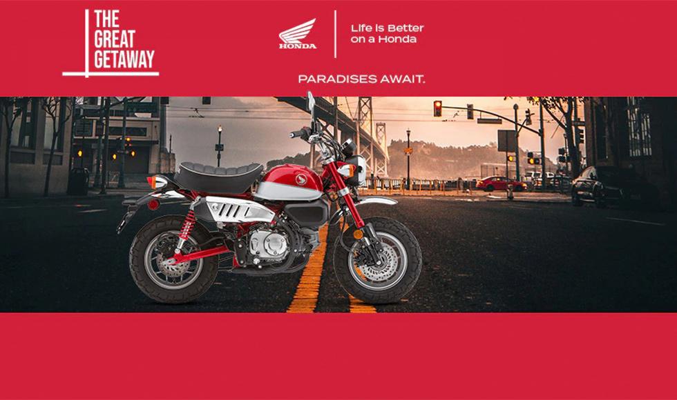 Honda US - The Great Getaway at Just For Fun Honda