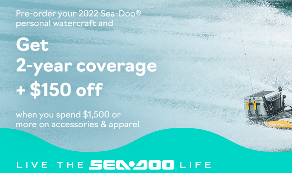 SEA-DOO PRE-ORDER SALES EVENT at Action Cycles 'n Sleds