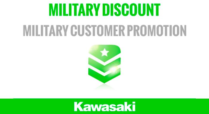 KAWASAKI - MILITARY DISCOUNT at Martin Moto