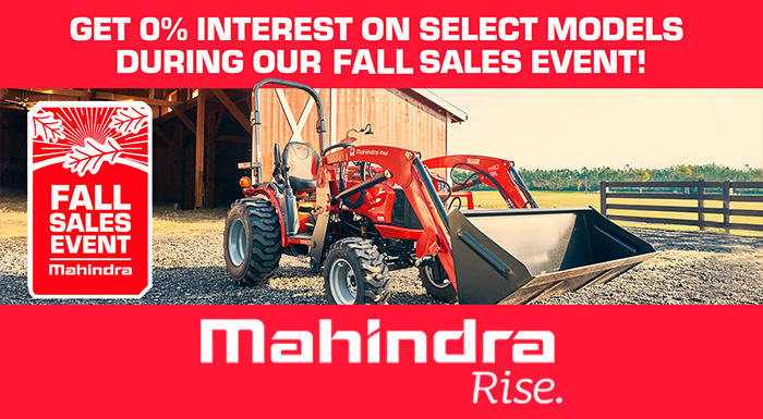 Mahindra - Get 0% Interest On Select Models at ATVs and More