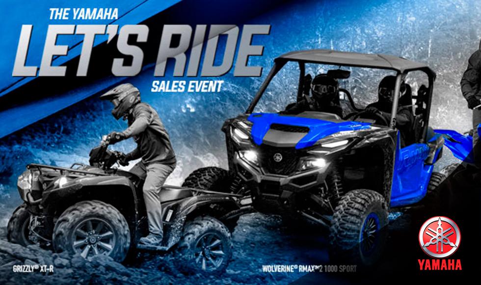 Yamaha US  - Lets Ride Sales Event - ATV-UTV at Yamaha Triumph KTM of Camp Hill, Camp Hill, PA 17011