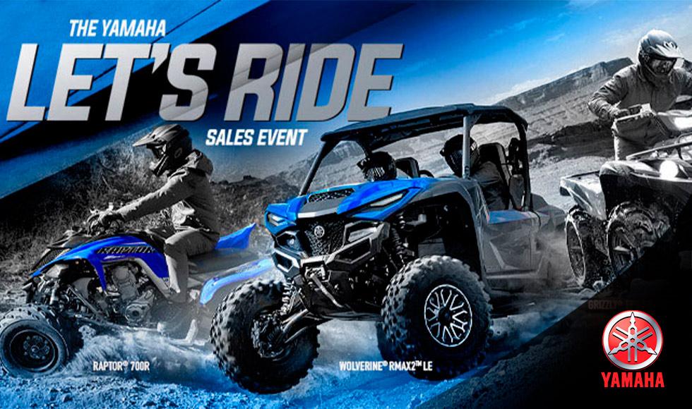 Yamaha US  - Lets Ride Sales Event - ATV-UTV at Ride Center USA