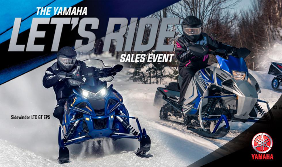 Yamaha US  - Snowmobiles Promotions at Clawson Motorsports