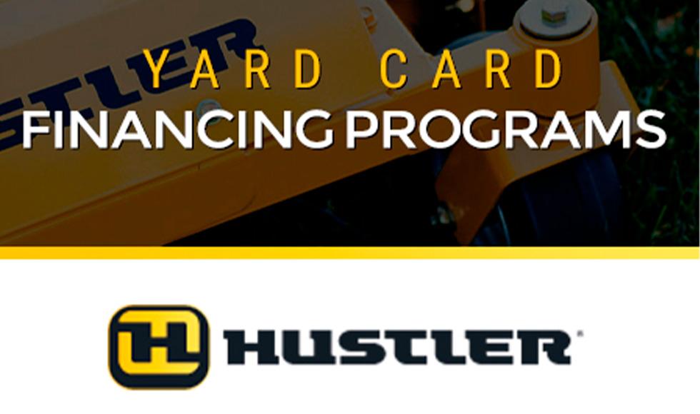 Hustler - Yard Card Financing Programs at ATVs and More